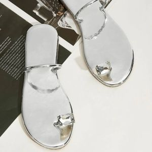 Shein rhinestone silver flats perfect for Indian occasions